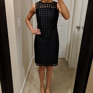 Black, formal Ralph Lauren cocktail dress size 0